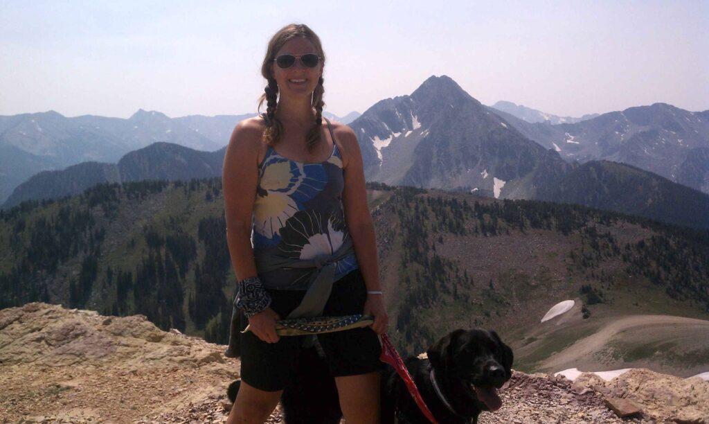 My Kind of Livable: Summiting peaks with my favorite adventure partner, Sidney.