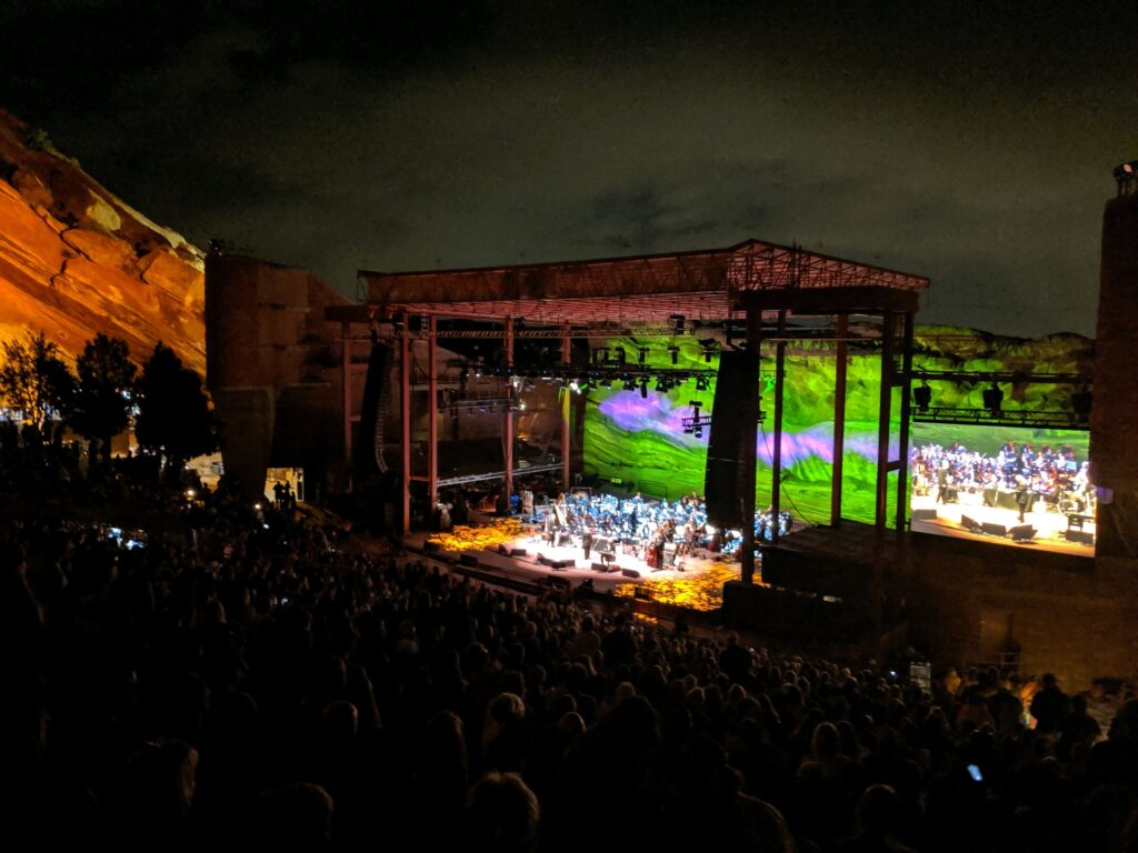 My Kind of Livable: An old-timer backed by the rich harmony a full orchestra at an iconic venue.