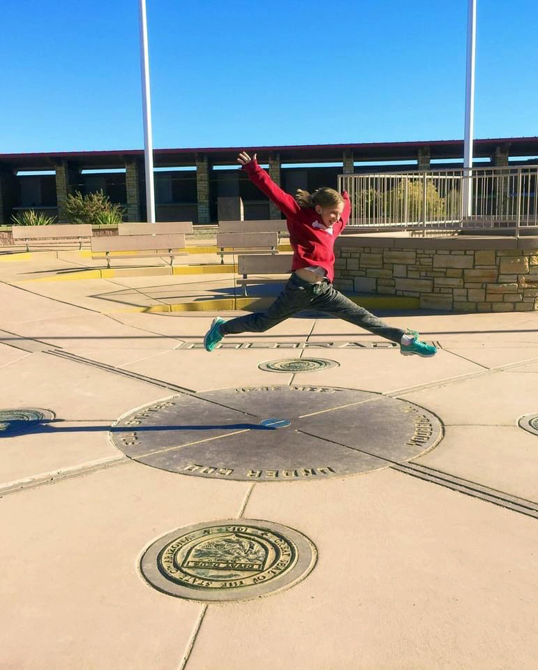My Kind of Livable: Where the four corners meet, there is a connection to multiple communities, traditions, and tribes. Plus, where else can you do a grand jete over four states at once?